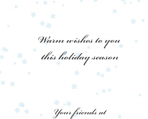 Merry Christmas and a Happy New Year from Michael Vorkas & Associates!